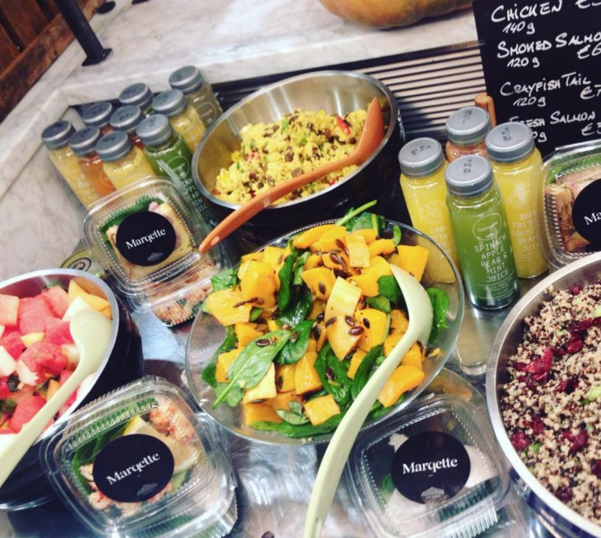fresh healthy food at dublin airport