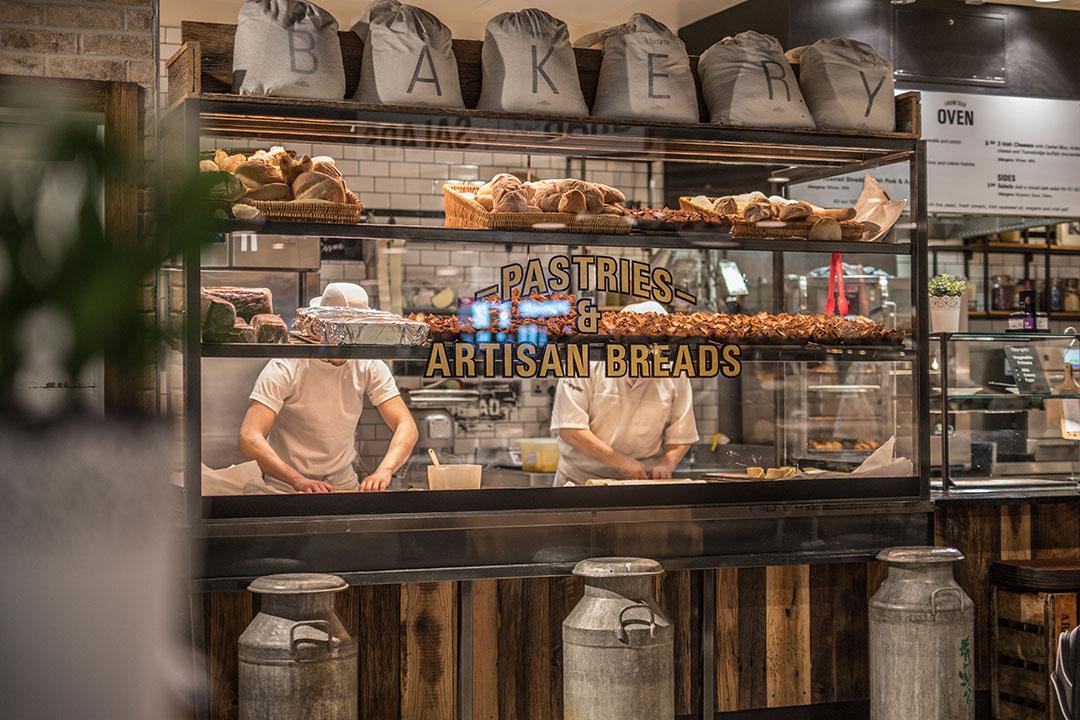 Bakery at Dublin Airport